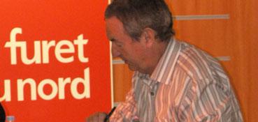 Nick Mason en dédicaces au Furet du Nord le 3 juin 2006