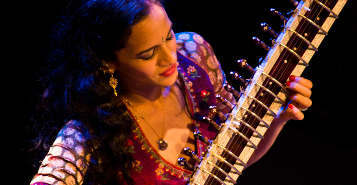 Anoushka Shankar @ Paris 08 novembre 2011