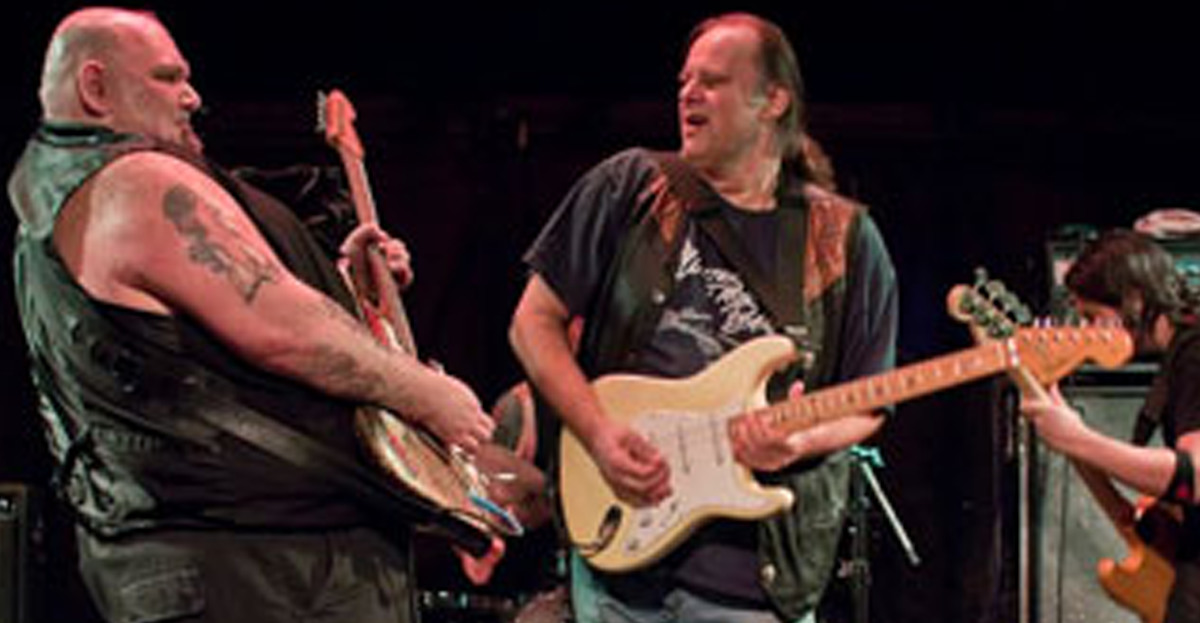 Popa Chubby Walter Trout Lille