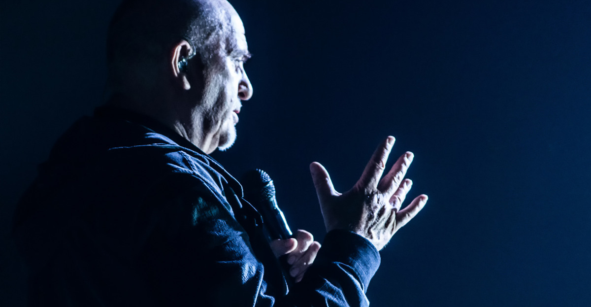 Peter Gabriel @ Strasbourg 13 novembre 2014