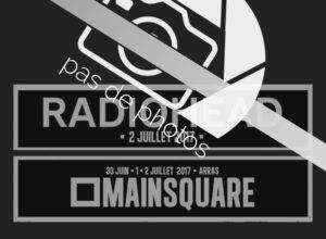 Radiohead Main Square 2017