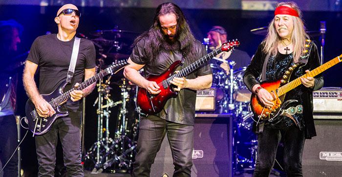 G3 Satriani Petrucci Roth @ Zénith Lille, 23 avril 2018