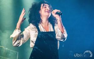 Camélia Jordana au Grand Mix Tourcoing 2019